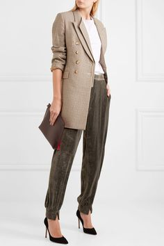 Anthracite velvet Concealed hook and zip fastening at front  82% viscose, 18% silk Dry clean Designer color: Truffle Grey