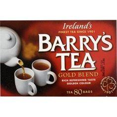 Barrys Tea Gold Blend 80 Tea Bags 250g-Ships Today  Price : $9.95 http://www.biddymurphy.com/Barrys-Tea-Blend-250g-Ships-Today/dp/B0083UTVK4
