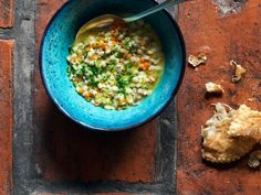 Pearl Barley Soup with Moscato d'Asti Recipe | SAVEUR