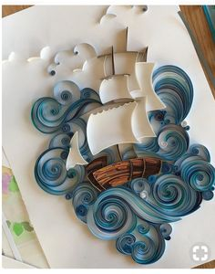 aprecieri, 43 comentarii - Quilling By Svetlana Danilova ( pe Ins. - quilling projects aprecieri, 43 comentarii - Quilling By Svetlana Danilova ( pe Ins Paper Quilling Patterns, Origami And Quilling, Quilled Paper Art, Quilling Paper Craft, Origami Paper, Diy Paper, Paper Crafts, 3d Art On Paper, Paper Wall Art