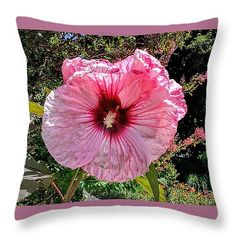 """Pretty in Pink Throw Pillow 14"""" x 14"""""""