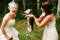 Brides and their pets