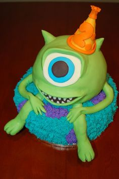 monsters inc birthday cake | Monsters Inc. Birthday Cake