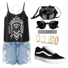 """""""Stylemoi Contest"""" by tania-alves ❤ liked on Polyvore featuring ZeroUV and Vans"""