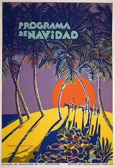 Poster Tony Maldonado [Puerto Rico In Posters] Puerto Rico, Puerto Rican Culture, Love Posters, Mo S, Sacred Art, Vintage Travel Posters, Graphic Illustration, Art History, Street Art