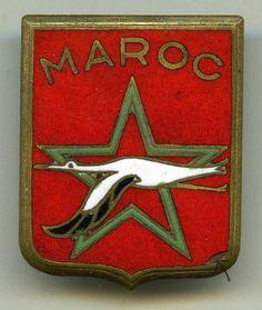 Insigne air , GB.  1 /  22  - MAROC