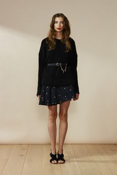 RUBY Chancellor Sweater & Frances Star Minidress