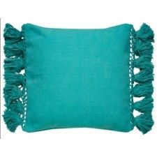 Jaipur Rugs Yorkville By Kate Spade New York Tassel Blue Turquoise Blue Pillows, Linen Pillows, Decorative Pillows, Throw Pillows, Jaipur Rugs, Pillow Inspiration, Boho Life, Shades Of Turquoise, Rugs Online