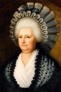 Ecofeminismo, decrecimiento y alternativas al desarrollo: Primera dama, Martha Washington (1731-1802)