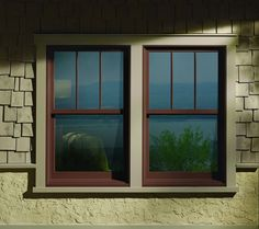 Home Exterior - Andersen single hung windows.   Sound View Window & Door sells and installs Andersen windows and doors in the greater Seattle, WA area.  Visit our showroom at 2626 15th Ave W, Seattle  98119 call 206-402-4229 for a free estimate.  visit our site at www.soundviewwindowanddoor.com