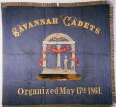 The Savannah Cadets company was organized on May 17, 1861, for home protection of Savannah. Membership was limited to boys between the ages of 14 and 17. The company was accepted into the service of the state of Georgia in February 1862 and joined the 54th Regiment of Georgia Volunteers, Confederate States Army, in May 1862 for the remainder of the Civil War. They surrendered with the army of General Joseph E. Johnston on April 27, 1865, in North Carolina.