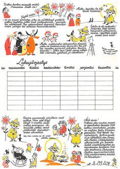 Tove Jansson, Moomin Wallpaper, Moomin Shop, Moomin Valley, Classroom Walls, Creative Teaching, Little My, Red Cross, Vintage Children