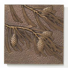Find the Whitehall Products Pinecone Aluminum Wall Decor antique copper finish the piece has a convenient 8 in. x 8 in. size and is made in the USA from The Home Depot Starfish Wall Decor, Small Wall Decor, Iron Wall Decor, Outdoor Wall Art, Indoor Outdoor, Outdoor Tiles, Small Pine Trees, Weathered Paint, Whitehall Products