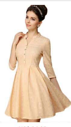 This is the dress I ordered!  - Sam Lace Dress With Sleeves, Dresses For Work, Work Outfits, Dresses Online, Stylish, April 11, Cute, Clothes, Shopping
