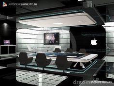 Sehen Sie sich mein #Innendesign 'New generation Apple dining or work Design by C