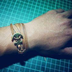Leather anchor bracelets IG:@keizogoods
