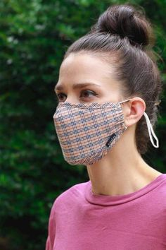 Our mask offers five layers of filtration and are washable / reusable. Our mask offers five layers of filtration and are washable / reusable. Our mask offers five layers. Sewing Patterns Free, Sewing Tutorials, Sewing Hacks, Diy Mask, Diy Face Mask, Face Masks, Mouth Mask Fashion, Mask Making, Mask Design