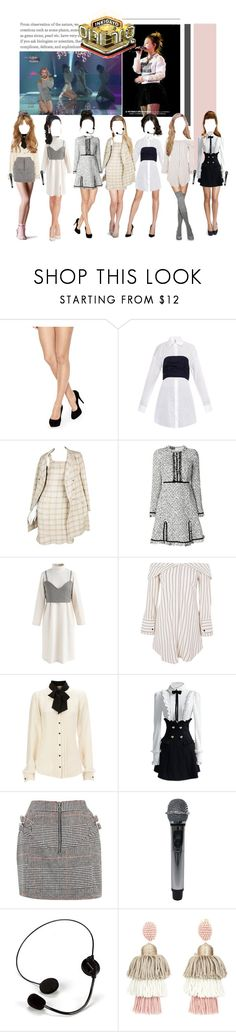 """""""«ROCKIT - GOODBYE STAGE»"""" by cw-entertainment ❤ liked on Polyvore featuring Charnos, Rosie Assoulin, Karl Lagerfeld, Giambattista Valli, Chicwish, Topshop, Oscar de la Renta and Rebecca Minkoff"""