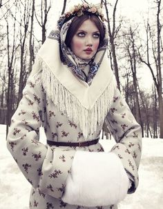 Lindsey Wixson for Vogue Japan December 2013