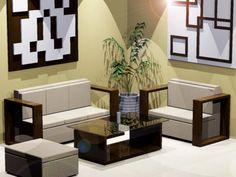 Desain ruang tamu kecil 3