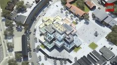 New LEGO house in Billund 2016...Please let this be complete when I go in May!