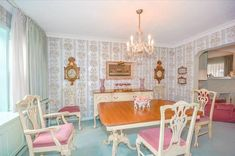 perfectly preserved 1950's | ... back into 1950′s interior design with this perfectly preserved home