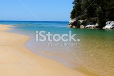 Kaiteriteri Inlet, Nelson, NZ Royalty Free Stock Photo Deep Photos, Abel Tasman National Park, New Zealand, National Parks, Royalty Free Stock Photos, Sea, Water, Photography, Blue