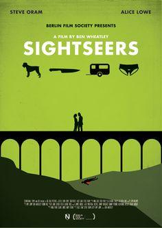Sightseers (2012) - Minimal Movie Poster by Matt Needle ~ #mattneedle #minimalmovieposters #alternativemovieposters