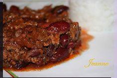 Le vrai chili con carne