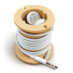 Bobine porte-écouteurs écouteurs &câble pour écouteurs: Amazon.fr: High-tech