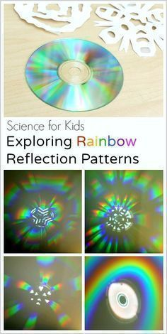 school projects STEM / STEAM Science for Kids: Exploring Rainbow Reflections with a CD and Paper Snowflakes- fun way to explore light! Science Experiments Kids, Science Fair, Science Lessons, Science For Kids, Science Penguin, Summer Science, Science Today, Stem Science, Physical Science