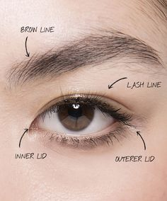 Lesson No. Make your eyes pop by chan. - Lesson No. Make your eyes pop by changing their shape, 10 Secrets I Learned at Makeup Artist Sch - Wedding Makeup Tips, Eye Makeup Tips, Makeup Products, Beauty Products, Basic Makeup, Makeup Kit, Makeup Brush, Makeup Inspo, Beauty Secrets