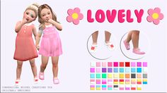 Miguel Creations TS4: ✿ ✿ Lovely Sandals
