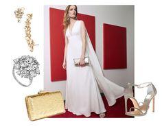 """Liv Tyler Red carpet look 1"" by johanamojak on Polyvore featuring Jill by Jill Stuart, KOTUR, Bulgari and Marchesa"