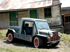It's a RatRod, it's a Moke & it's a Ute. All in all its Moke'in Around Monday perfection! love, Love, LOVE IT!
