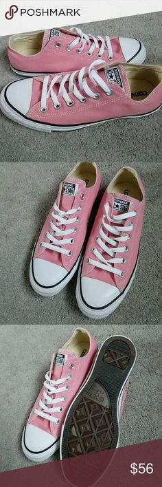 Dusty Pink Converse All Stars Size 9 women Size 7 men Brand New no box Converse Shoes Sneakers