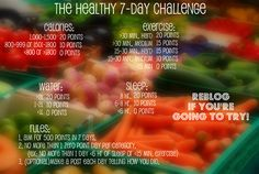 the healthy 7-day challenge