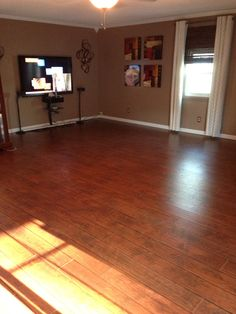 Select Surfaces Laminate Flooring Canyon Oak From Sam S Club Installed 26 Boxes