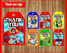 Rescate de Bots fiesta Pack Rescue Bots feliz por lovebuggydesigns