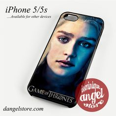 Game of Thrones Daenerys Targaryen Phone case for iPhone 4/4s/5/5c/5s/6/6 plus