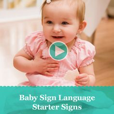 Start teaching your baby to communicate using sign language. http://www.parents.com/videos/v/64357146/baby-sign-language-starter-signs.htm/?socsrc=pmmpin091212PTTBabySignLanguage