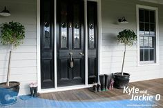 Jackie O's Farm House In The Kangaroo Valley. Love the front doors