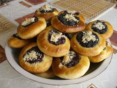 http://www.texasmonthly.com/food/recipefiles/Breakfast/1998-11-01/recipe2.php  Mrs. Jerabek's Kolache Recipe -- Best kolache recipe I've tried so far. (Kolache image from Wikimedia contributor Chmee2, GNU Free Documentation License)