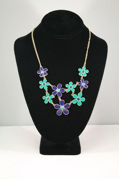 Emerson Flower Necklace – Moon Child Boutique