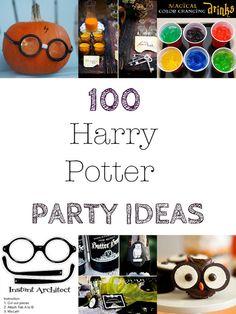 100 + Harry Potter Halloween Party Ideas
