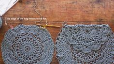 Some of you are probably familiar with this lovely crochet bag from Free People . I thought maybe try make one- not exactly like it - ...