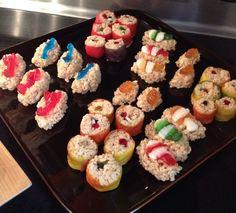 Candy sushi - so fun!!