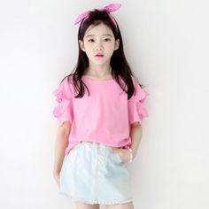 Girls Fashion Clothes, Kids Fashion, Fashion Outfits, Cute Korean, Korean Girl, Cute Baby Girl, Cute Babies, Ulzzang Kids, Korean Babies