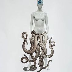 Collage Artists, Collages, Octopus Legs, Man Beast, Collage Maker, Fashion Collage, Skirt Fashion, Insta Art, Surrealism