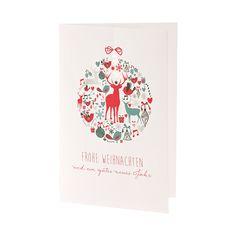 Schöne Weihnachtsgrüße - Modernes Design - Hübsch! Bestellen Sie nur bei uns - Wimmer Druck in Aachen- oder online bei top-kartenlieferant.de